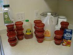 Sugar Free Strawberry Freezer Jam (she:Kendra) - Or so she says...