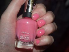 I Pink I Can, Sally Hansen.