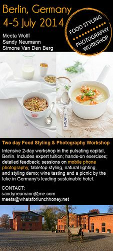 Food Photography and styling workshop in Berlin, Germany. With @Simone van den Berg and @Sandy Neumann