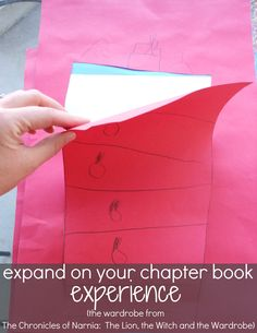 expand on chapter books with young kids