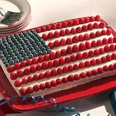 Memorial Day, Flag Day, Labor Day...the list goes on for when this cake is appropriate!