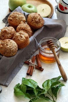 Apple Muffins!! Brea