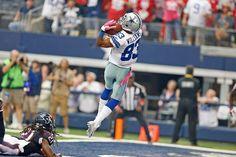Tony Romo Escapes JJ Watt, Throws 43-Yard Touchdown to Terrance Williams #DallasCowboys #HOUvsDAL