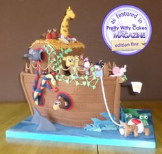 """This cake made it into a cake decorating magazine this month, It was our 1st """"Guess the weight cake"""""""