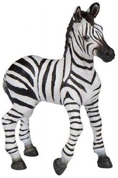 Papo Zebra Cub at theBIGzoo.com, a toy store with over 12,000 products.
