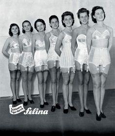 Felina Lingerie Ad - 1950  Vintage German lingerie