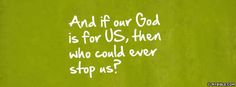 If Our God Is For Us - Facebook Cover Photo