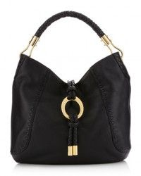MICHAEL KORS Skorpios Calfskin Hobo Black $850  http://hollyrotic.mybigcommerce.com/search.php?search_query=skorpios=0=0