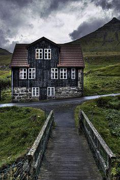 """Gjógv - Faroe Islands."""