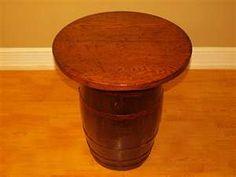 antique wooden barrels