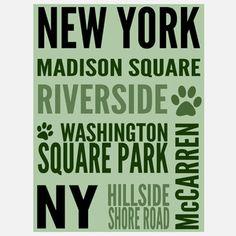 NYC Dog Hot Spot Green