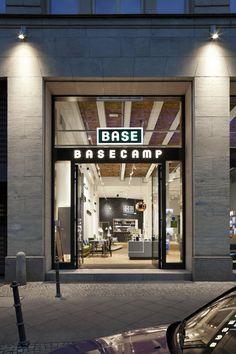BASE_camp mobile phone shop & café by NEST ONE, Berlin