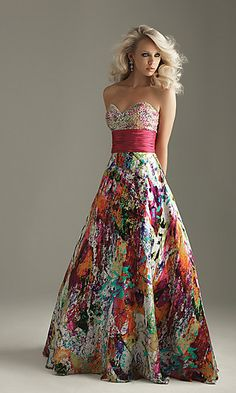I don't even know why I need this dress, but I do. Just to hang in my closet..nowhere to wear this thing..EVER