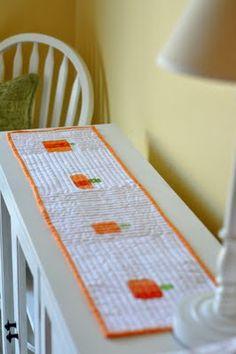 Pumpkin Table Runner