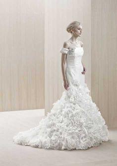 Mermaid cut wedding dress, my dream