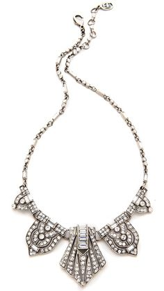 Ben-Amun Crystal Statement Necklace | selected by jamesdrygoods.com for the made in america: contemporary project | #madeinusa |