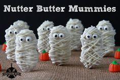 Nutter Butter Mummies - Quick and SUPER easy!