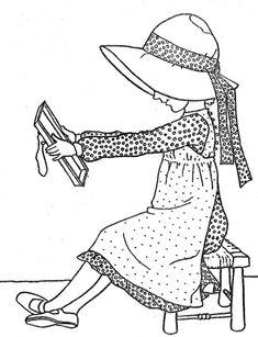 TimelessTrinkets.com Holly Hobbie Coloring Pages