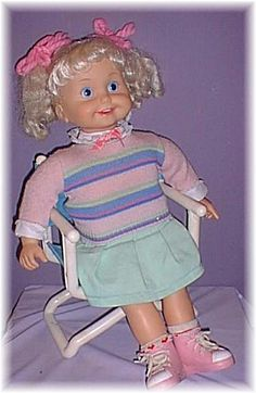 Cricket. I still have this doll. Some where at my parents house. Lol