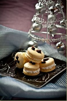 Light and airy in texture with creamy, slightly tangy center these Macarons are fit for a king! by LettheBakingBegin...