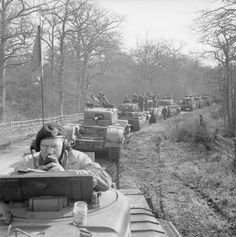 Canadian Churchill tanks during Exercise 'Spartan', 9 March 1943. #worldwar2 #tanks
