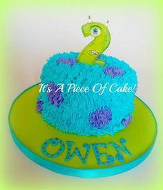 Monster Themed Smash Cake!