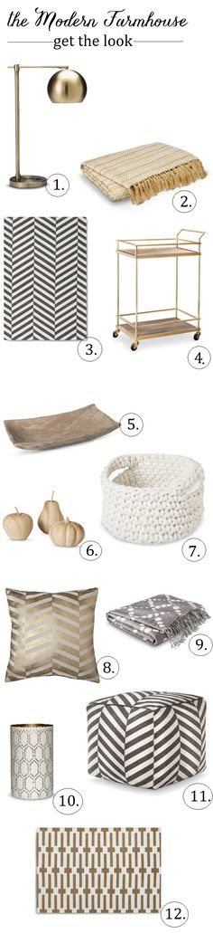 Fall Decorating: The Modern Farmhouse with Target Threshold accessories