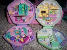 The Original Polly Pockets... you know, pocket sized?