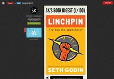A Summary Of Linchpin by Seth Godin Infographic