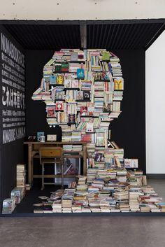 interesting book display