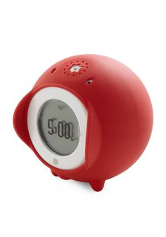i NEED AN ALARM CLOCK TO SMACK ME BUT THIS MIGHT DO(TOCKY)RED Alarm Clock