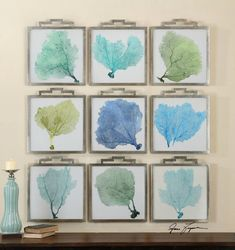 This beautiful grouping of under the sea art will create a unique statement for your beach house!