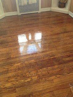 DIY- CHEAP QUICK Easy way to make old Floors look new again!