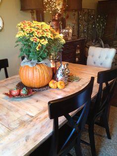 Our barn door table