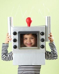 Vintage Robot Hat: Great recipes and more at http://www.sweetpaulmag.com !! @Sweet Paul Magazine