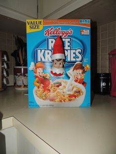 elf on the shelf funny ideas | Snap, Twinkie, Pop! | Fun Elf on the Shelf Ideas