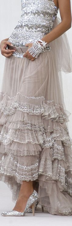 bling, detail, chanel, coutur, cloth, dress, beauti, sparkle glitter, closet
