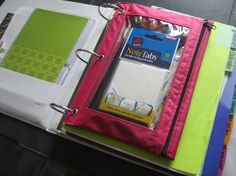 another home reference binder