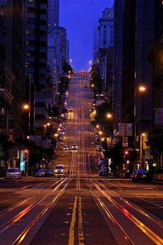Dusk -  San Francisco