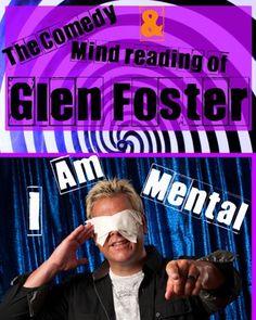 glen foster, awardwin comedi, magician glen, magic journey, comedi magician