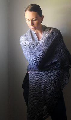 ACCLIVOUS Shawl Knitting Pattern PDF by NorthboundKnitting on Etsy