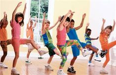 Nat'l Health Education Week #NHEW13 -- Kids age 6–17 yrs should participate in at least 60 min. of physical activity daily.