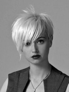 short trendy hair - Bing Images