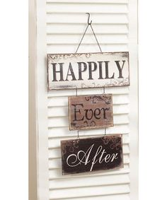 'Happily Ever After' Wall Sign