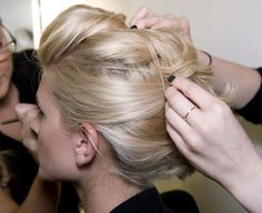 updo for Maddys or my hair for wedding