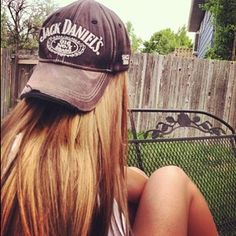 I want this Jack Daniels hat sooo bad!!!