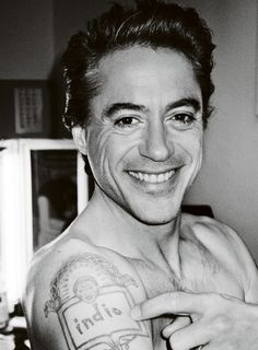 Robert Downey, Jr. photographed by Mario Testino for LOVE Magazine, Spring 2012