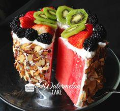 Paleo Watermelon Cake - Paleo Cupboard