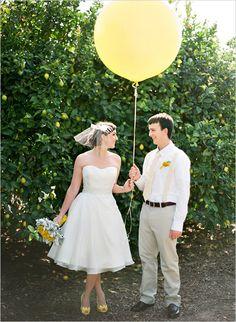 yellow wedding ideas