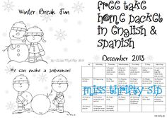 Miss Thrifty SLP: I'm not good at waiting....homework freebie
